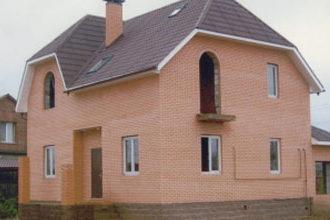 Кирпичный дом. Строительство домов под ключ
